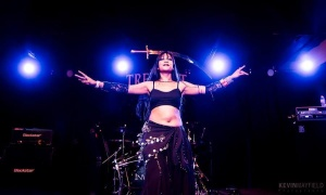 Kadria of Inviolate band tags us in all of her photos. She is a long time friend and supporter of MissBellydance.com