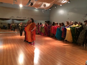 Khaleegi workshop with Kay Hardy - studying Raqs Sharqi and dances of the East are great ways to celebrate and honour International Dance Day