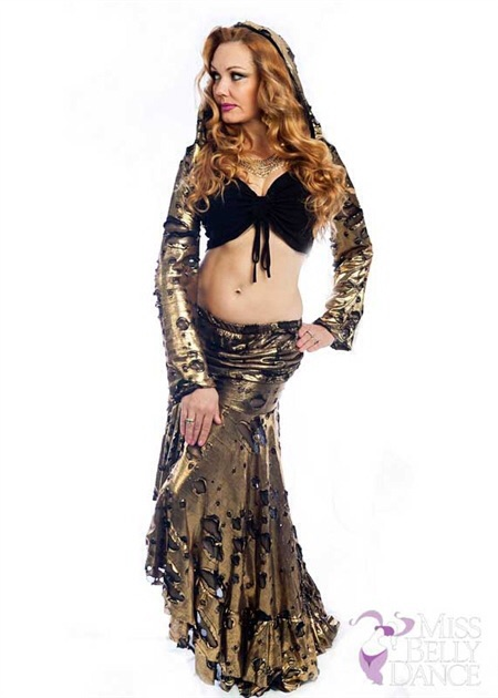 The amazing Louchia - from several Raqs productions such as Bellydance Evolution's Alice in Wonderland is modeling MissBellydance.com