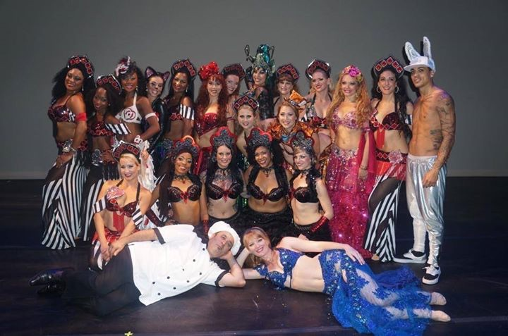 Bellydance Evolution - backstage - certainly the best show of 2014