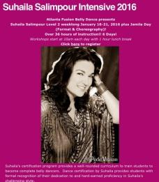 Register for Suhaila's workshop with Atlanta Fusion Bellydance